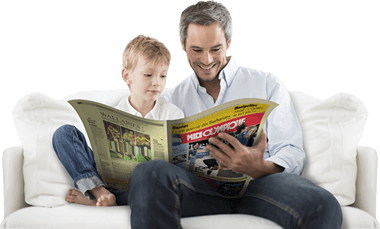 Abonnement spécial Fête des Pères